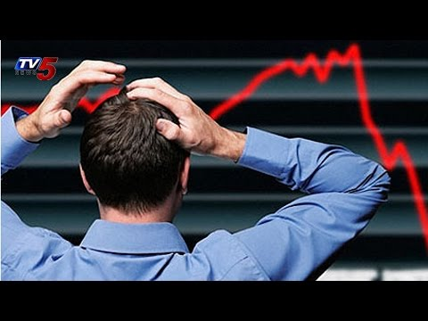 Stock Markets Fall Down Today : TV5 News