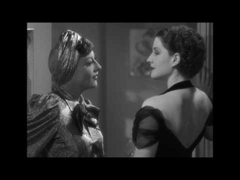 "Joan Crawford and Norma Shearer Confrontation Scene from ""The Women"""