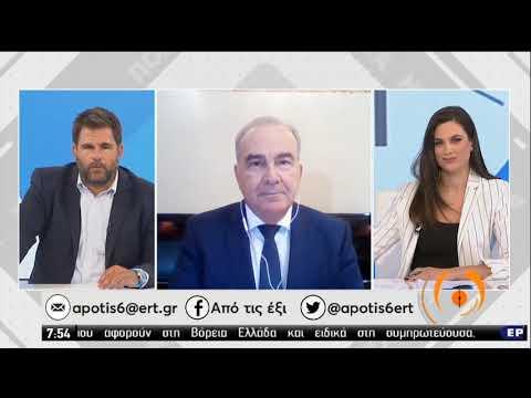 Ο αναπληρωτής Υπουργός Ανάπτυξης και Επενδύσεων Νίκος Παπαθανάσης | 04/09/20 | ΕΡΤ