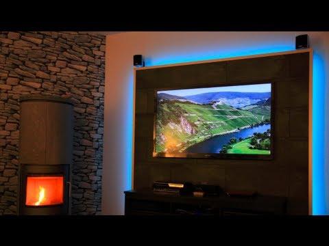 LED TV Wand selber bauen