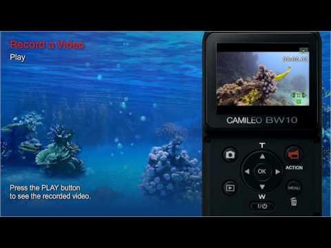 Toshiba CAMILEO BW10 sportscam - Tutorial