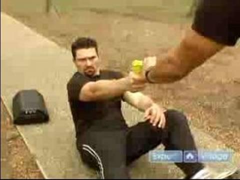 Krav Maga Self Defense Techniques : Nike Gun Defense : Krav Maga