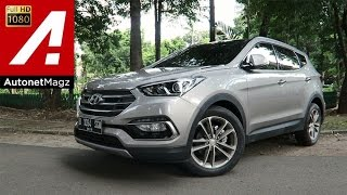 Video Test drive Hyundai Santa Fe CRDi facelift 2016 MP3, 3GP, MP4, WEBM, AVI, FLV Februari 2018