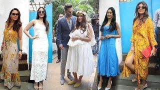 Video Neha Dhupia's Godh Bharai Ceremony- Jhanvi,Shilpa,Preity,Sonakshi,Salman Khan Family MP3, 3GP, MP4, WEBM, AVI, FLV Oktober 2018