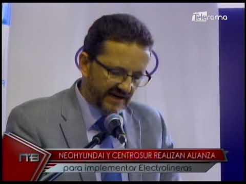 Neohyundai y Centrosur realizan alianza para implementar electrolineras
