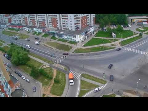 ДТП в Чебоксарах на улице Университетской