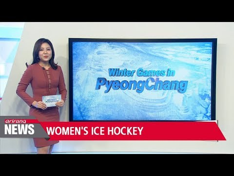 Unified-Korean women's ice hockey team look to finish Olympics with win against Sweden