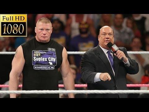WWE Raw 24 October 2016 Full Show - Brock Lesnar Return - WWE Monday Night Raw 10/24/16 Full Show HQ