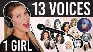 Video 1 GIRL 13 VOICES (Ariana Grande, Lady Gaga, Selena Gomez, Cher and many more) MP3, 3GP, MP4, WEBM, AVI, FLV Oktober 2018