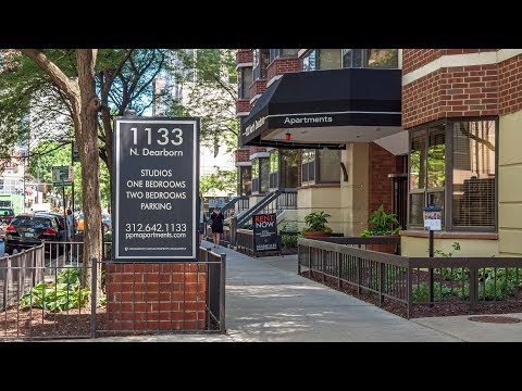A Gold Coast 2-bedroom duplex at the full-amenity 1133 North Dearborn