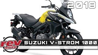 8. 2018 SUZUKI V-STROM 1000 Review Rendered Price Specs Release Date