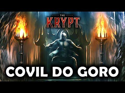 EXPLORANDO O COVIL DO GORO NA KRIPTA - Mortal Kombat 11