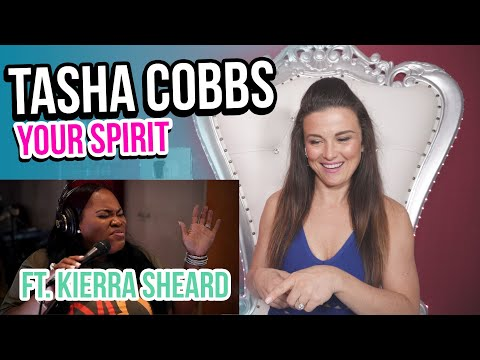Vocal Coach Reacts to Tasha Cobbs Leonard- Your Spirit