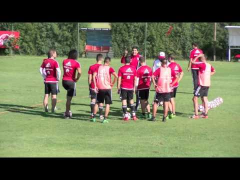 Entrenamiento en River Camp (11/04)