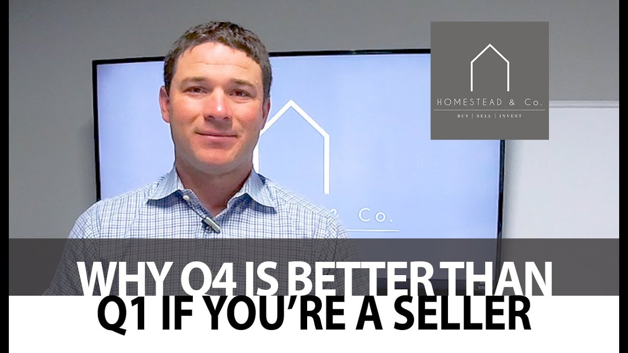 Why It's Easier Selling Your Home in Q4 Than It Is in Q1