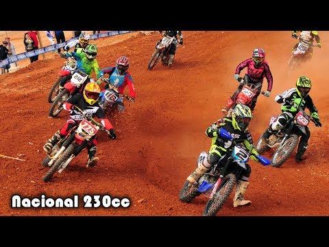 Corrida Nacional 230cc em São José - 3a etapa Campeonato Catarinense de Motocross