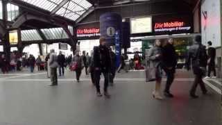 Switzerland zurich timelapse central station 2013