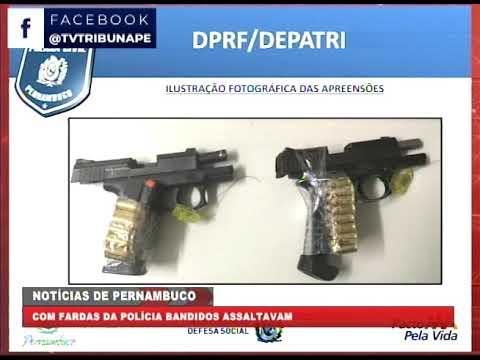 [BRASIL URGENTE PE] Polícia desarticula quadrilha que atuava com fardas da políciais, em San Martin