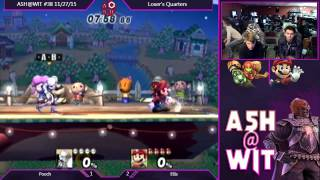 Pooch (Samus) vs Ellis (Mario) – ASH@WIT  38 PM Loser's Quarters