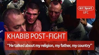 Video Khabib post-fight press conference: McGregor disrespected my father and religion | UFC 229 MP3, 3GP, MP4, WEBM, AVI, FLV Februari 2019