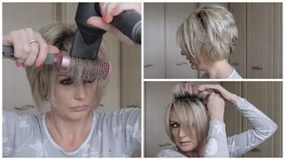 Video How I Blow Dry My Short Stacked Bob & What Is My Hair Color MP3, 3GP, MP4, WEBM, AVI, FLV Juni 2018