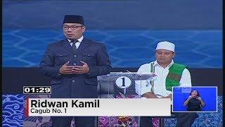 Video Debat Final Pilgub Jabar Segmen 5 : Budaya & Pariwisata MP3, 3GP, MP4, WEBM, AVI, FLV Oktober 2018