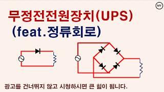 무정전전원장치(UPS)원리+정류회로