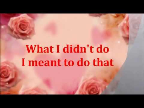 paul Brandt -   I Meant To Do That lyrics.flv