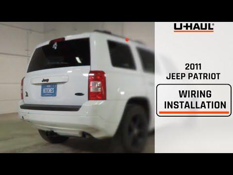 2011 Jeep Patriot Trailer Wiring Installation
