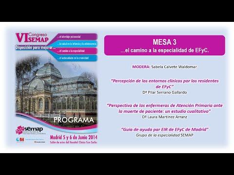 El camino a la  especialidad de Enfermería Familiar  Comunitaria VI Congreso Semap