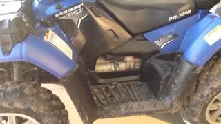 7. Polaris 850 Touring ATV Review 1
