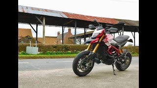 9. Sherburn to York on the Ducati 2018 Hypermotard 939 SP