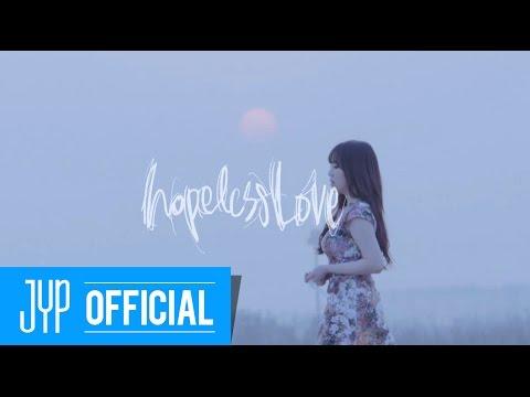 """韓國實力女歌手~朴智敏박지민(Jimin Park) """"Hopeless Love"""" MV"""