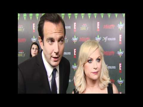 Amy Poehler & Will Arnett Red Carpet @ Variety's Power of Comedy