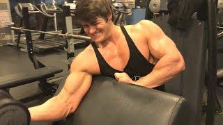 Jeff Seid   Back & Biceps Workout in Russia
