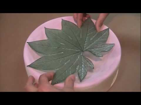 Filling and Firing a Colour de Verre Aralia Leaf Mold