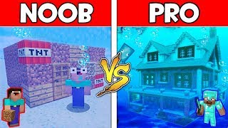 Video Minecraft - NOOB vs PRO : UNDERWATER BASE in Minecraft ! AVM SHORTS Animation MP3, 3GP, MP4, WEBM, AVI, FLV Desember 2018
