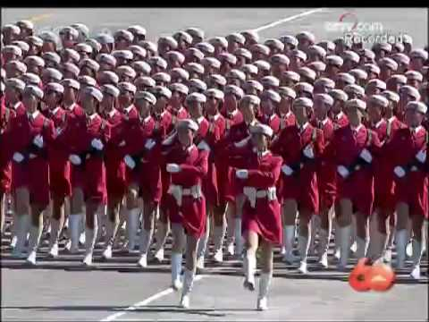 [English Version] China's 60th National Day Military Parade - 1. Troop Formation 2/2