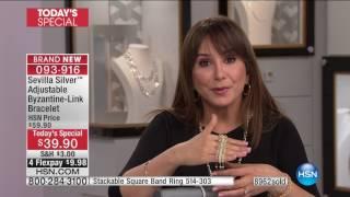 HSN | Sevilla Silver with Technibond Jewelry 01.19.2017 - 01 PM
