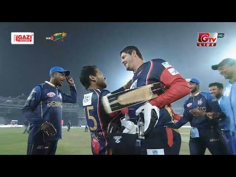 Winning Moments of Chittagong Vikings Against Dhaka Dynamites || 24th Match || Edition 6 || BPL 2019