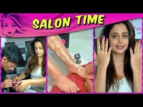 Neha Pendse aka Sanjana Madam Pampers Herself At T