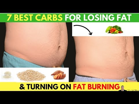 """🍽️7 Best Carbs For Losing Belly Fat & Turning ON Your """"Fat-Burning"""" Hormones"""