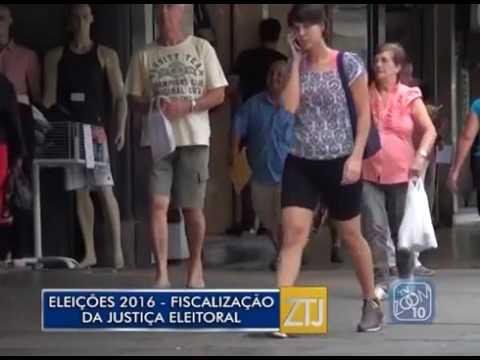 Eleições 2016: fiscalização da Justiça Eleitoral - 24/08/2016 - Zoom TV Jornal