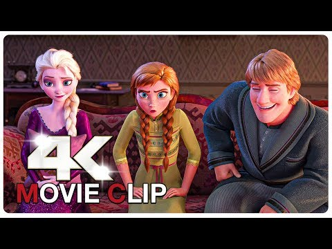 Elsa and Anna Playing Charades Scene - FROZEN 2 (2019) Movie CLIP 4K