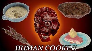 Fallout 4 Mods: Human Cookin!
