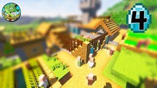 Transform a Minecraft Village into a Town E04 - MANSION!
