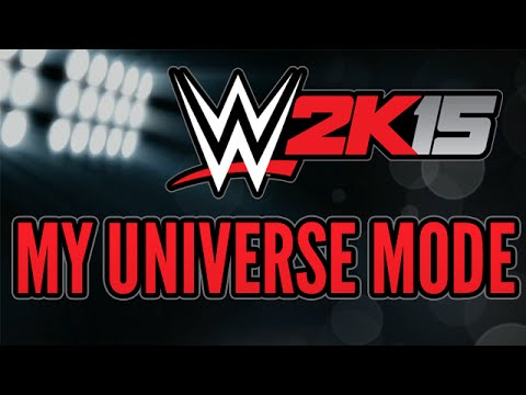 Universe - Also check out More WWE 2K15 https://www.youtube.com/playlist?list=PLUUbSfOyYJNPeGrTzoAFh5RwbGgaPtljv ✩ Support Me on Patreon - http://patreon.com/tonypizzaguy ✩ Pre Order WWE 2K15 ...