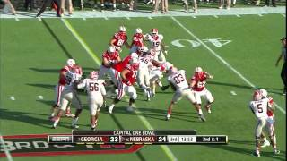 Alec Ogletree vs Nebraska (2012 Bowl)
