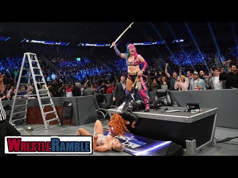 Should Asuka Win At WWE TLC? WWE SmackDown, Dec. 11, 2018 Review | WrestleTalk's WrestleRamble
