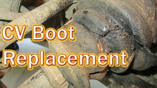 9. DIY Polaris Sportsman 500 CV Boot Replacement - How to Replace a Rear Inner CV Boot on an ATV